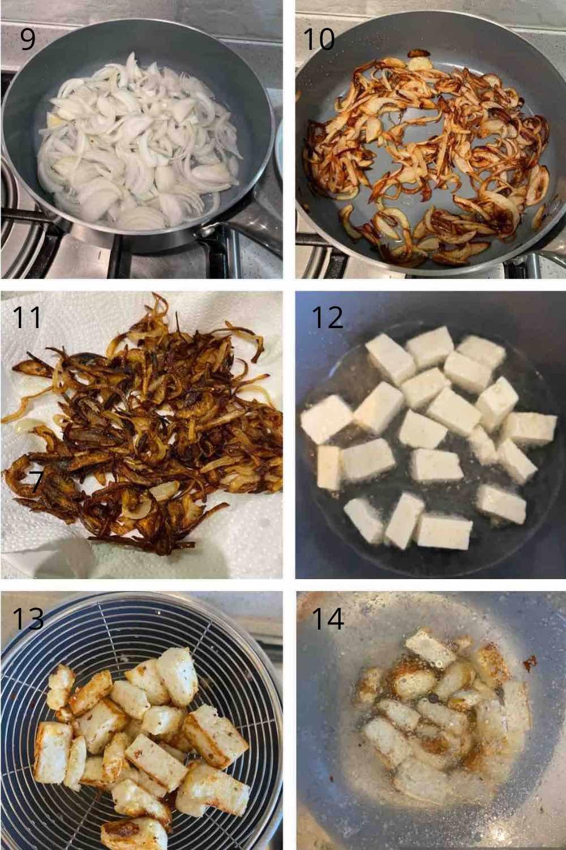 Pea pulao recipe step 5,6